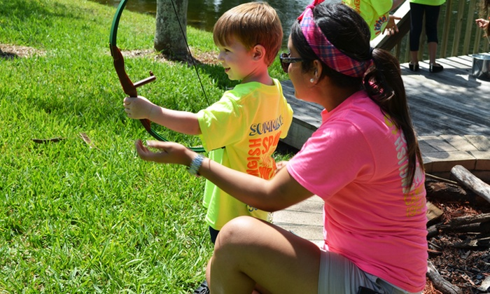 Camp Lingua - Davie: $139 for One Week of Spanish Immersion Day Camp from Camp Lingua at Parkway School ($275 Value). Two Sessions Available.
