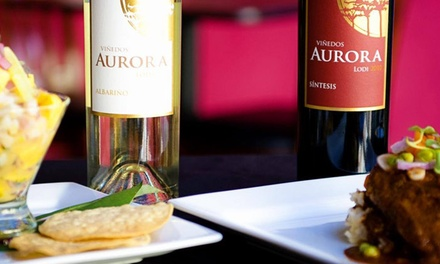 Tapas and Wine for Two or Four at Vinedos Aurora at Pamplona Tapas (Up to 52% Off)