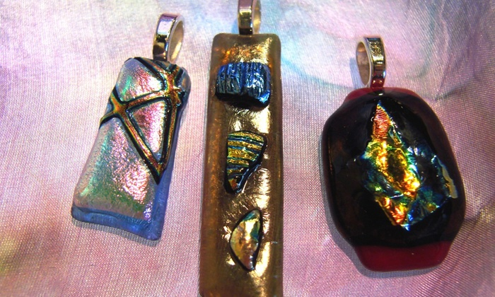 Gallery's Choice - Downers Grove: Two-Hour Fused-Glass-Pendant-Making Class for One or Two at Gallery's Choice (Up to 53% Off)