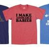 Men's Dad Themed Cotton T-Shirts