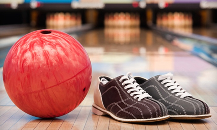 Franklin Lanes - Evansville: Two Hours of Bowling for Four or Eight with Shoe Rental and Soft Drinks at Franklin Lanes (Up to 68% Off)