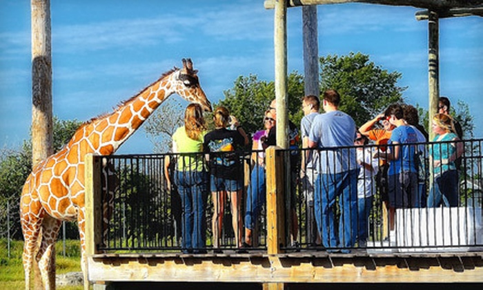 Tanganyika Wildlife Park - South Central Kansas: Wildlife Outing for Two or Four to Tanganyika Wildlife Park in Goddard (Half Off)