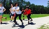5K Bull Run - Tioga Town Center: One Ticket to the Gainesville Roller Rebels Bull-Run-Themed 5K at Tioga Town Center on Saturday, July 25 (Up to 53% Off)