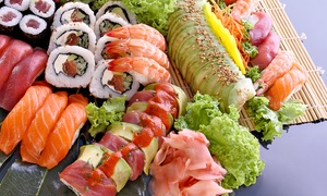 Sushi Damo: Sushi and Japanese Cuisine for Dinner for Two or Four at Sushi Damo (Up to 39% Off)