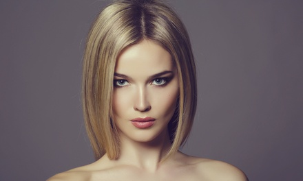 $45 for Haircut, Mini Partial Highlights, Brow Shaping, and Hand Massage at Bombshell Salon ($90 Value)
