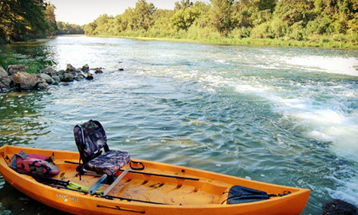 MOC Kayaks - Austin: Downtown Kayaking Adventure or Kayak Fishing for One or Two from MOC Kayaks (Up to 60% Off)