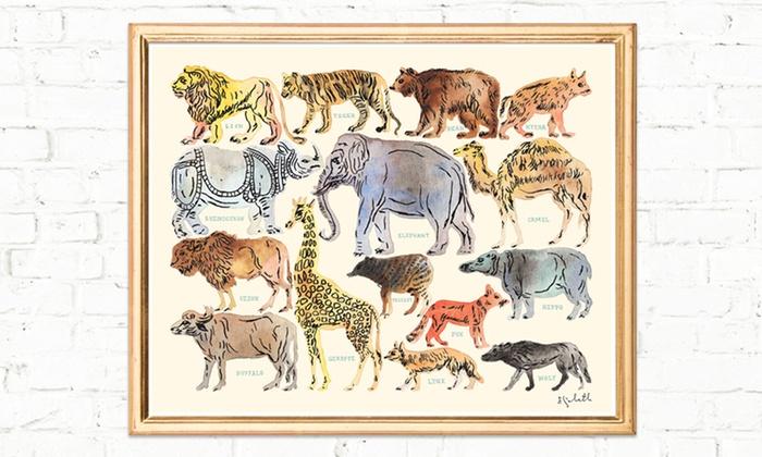 Art Prints: 20% Off Animal- or Cigar-Identification Art Print from Elizabeth Doyle