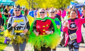 The Super Run: Entry for One or Two to The Super Run on February 28, 2016 (Up to 56% Off)