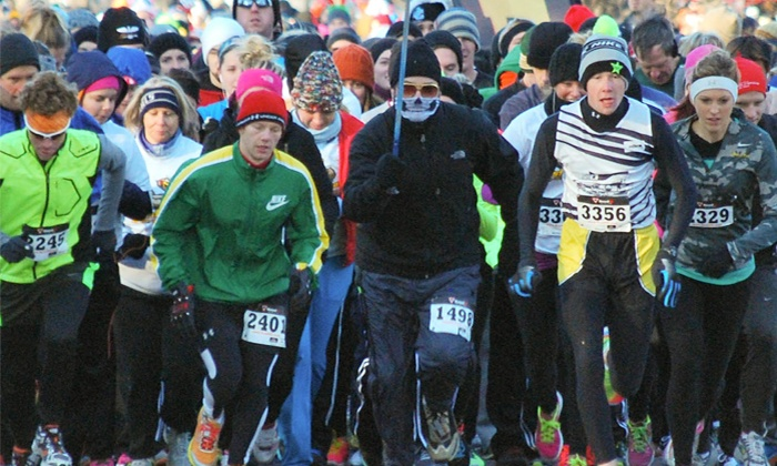 Beast 2 Feast 5k: Entry for One, Two, or Four to the Beast 2 Feast 5K on Thanksgiving Morning (Up to  47% Off)
