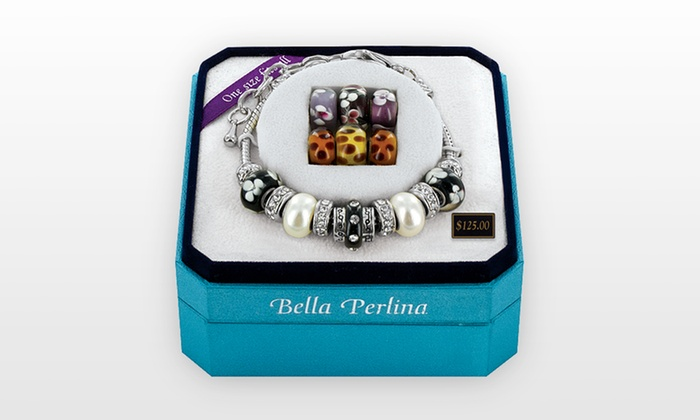 Bella Perlina 3-in-1 Charm Bracelet: Bella Perlina 3-in-1 Charm Bracelet. Free Shipping and Returns.