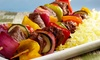 Passion Cafe & Lounge - Encino: Hookah and Mediterranean Food at Passion Cafe & Lounge (Up to 50% Off). Two Options Available.