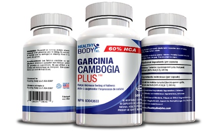 Garcinia Cambogia Plus for Weight Loss; 1, 2, or 3 Bottles.