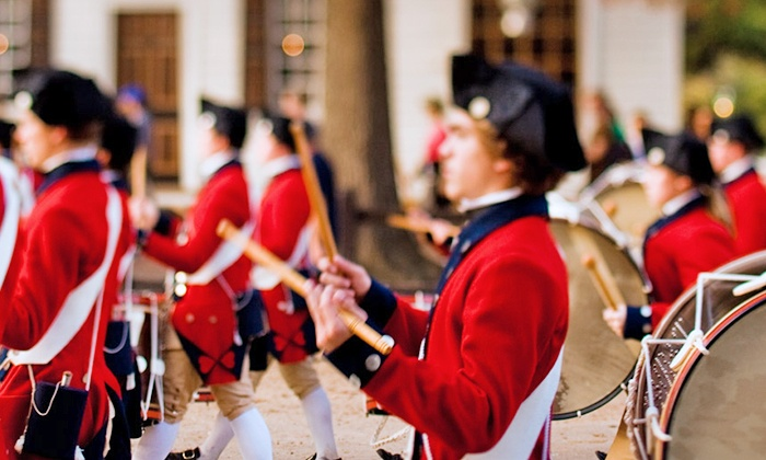 Colonial Williamsburg -  Liberty's Ice Pavilion: Single-Day Youth or Adult Colonial Williamsburg Ticket (50% Off)