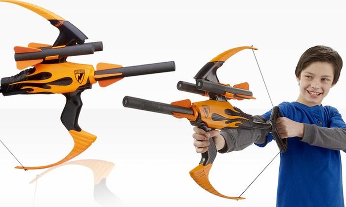 Nerf N-Strike Elite Blazin' Bow Blaster | Groupon