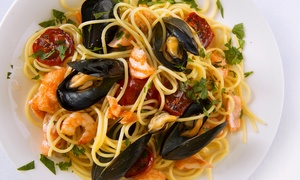 La ville superbe brasserie restaurant: Menu di pesce alla carta con vino al porto di Genova da La Ville Superbe Brasserie Restaurant (sconto fino a 65%)