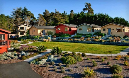 groupon daily deal - 1- or 2-Night Stay for Two in a Cottage with Daily Breakfast at the Cottages at Little River in Little River, CA