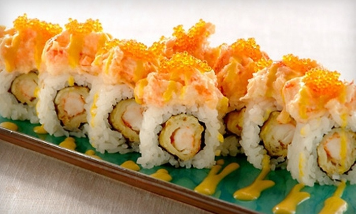 Sushi Blvd - Sunnyvale: $15 for $30 Worth of Sushi, Japanese Cuisine, and Sake at Sushi Blvd