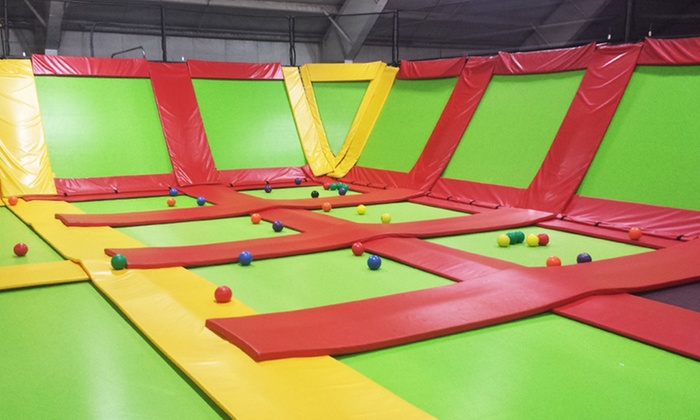 Bounce Away FunPlex & Mini golf - Shamokin Dam: One-Hour Bounce Pass for Two, Four, or Six at Bounce Away FunPlex & Mini Golf (Up to 55% Off)