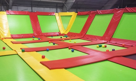 One-Hour Bounce Pass for Two, Four, or Six at Bounce Away FunPlex & Mini Golf (Up to 55% Off)