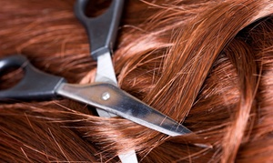 Salon Nuevo: Haircut Package with Optional Partial Highlights or Full Color at Salon Nuevo (Up to 53% Off)