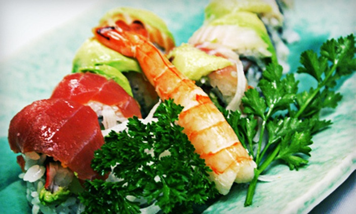 Sushi Hayashi - Town N County Park: $12 for $25 Worth of Sushi and Drinks for 2 or More at Sushi Hayashi