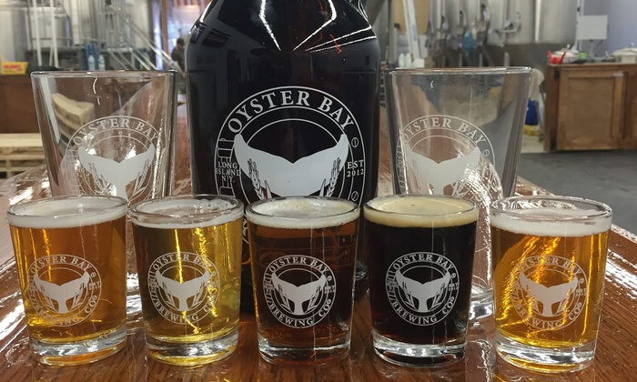 Oyster Bay Brewing Company - Oyster Bay Brewing Company: Craft-Beer Tasting for Two or Four at Oyster Bay Brewing Company (Up to 49% Off)