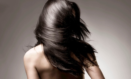 Haircut Packages or Straightening Treatment from Irina Arce at Hair Designers (Up to 59% Off). Four Options Available.