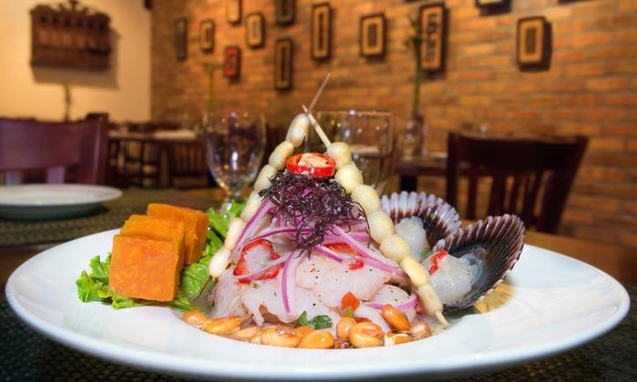 Aromas Del Peru - Hammocks - Miami:  $13 for $20 Worth of Peruvian Food and Drinks at Aromas Del Perú