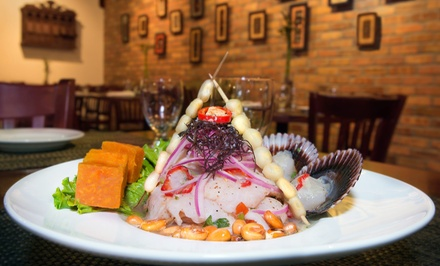 $11 for $20 Worth of Peruvian Food and Drinks at Aromas Del Perú