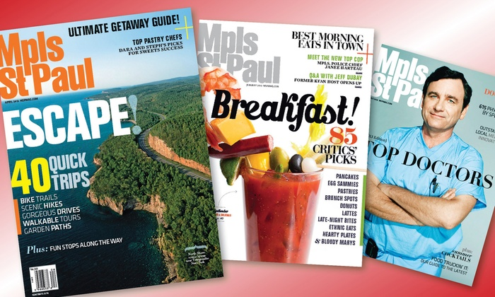 Mpls.St.Paul Magazine: One- Two-, or Three-Year Subscription to <i>Mpls.St.Paul Magazine</i> (Half Off)