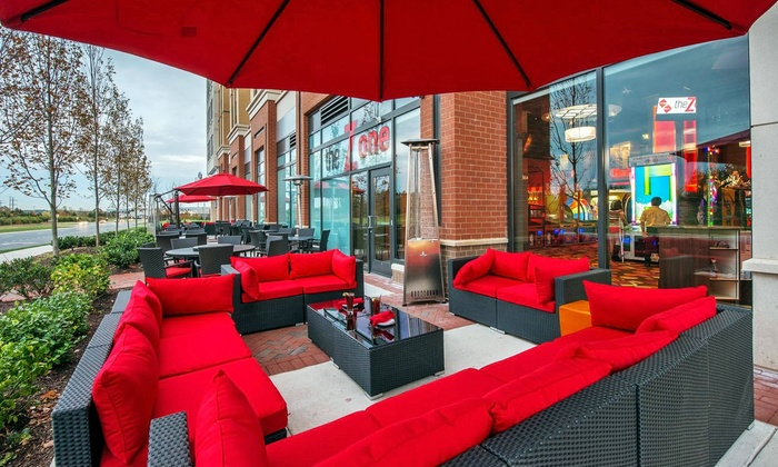 The Zone USA - Ashburn - Loudoun Station: $18 for $30 Worth of Upscale American Cuisine and Drinks at The Zone USA