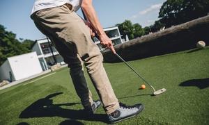 Citygolf Stuttgart: 1x 18-Loch Adventure Golf inkl. Softdrink für zwei oder vier Personen bei CITYGOLF STUTTGART (bis zu 36% sparen*)