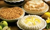 Marie Callender's Restaurant & Bakery - Temecula: $17 for Two Pies from Marie Callender's Restaurant & Bakery (Up to $35.58 Value)