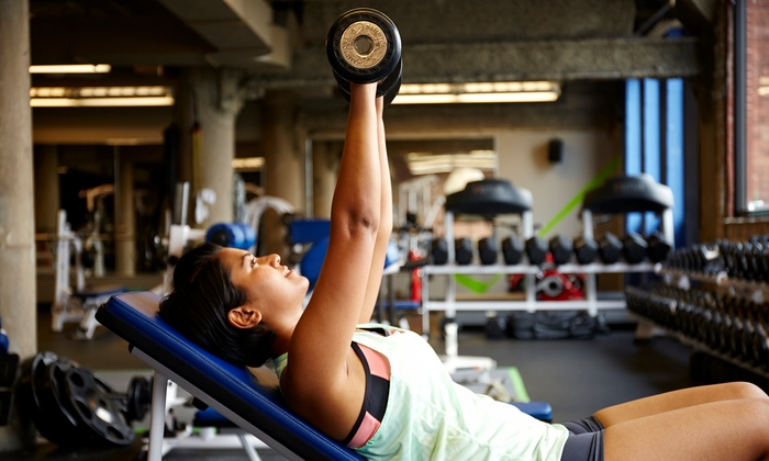 Synergy Fitness - Multiple Locations: 12-Month Membership with Two Personal-Training Sessions at Synergy Fitness (Up to 57% Off)