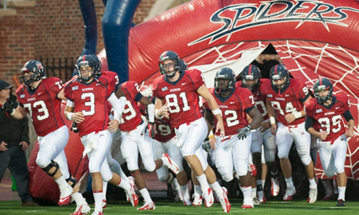 Richmond Spiders Football - Robins Center: $14 to See a University of Richmond Spiders Football Game at Robins Stadium on Saturday, October 26 ($27 Value)