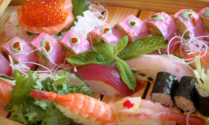 Sakura Teppanyaki and Sushi - Lakeview: Sushi, Teppanyaki, and Thai Food at Sakura Teppanyaki and Sushi (Up to 56% Off). Two Options Available.