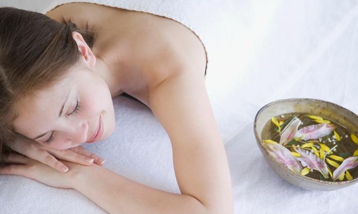 Stellar Nail Studio - Richardson: 30- or 60-Minute Relaxation-and-Rejuvenation Hands-Free Massage at Stellar Nail Studio (50% Off)