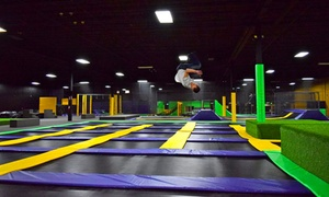 Get Air : Two or Four One-Hour Jump Passes or a Party Package at Get Air (Up to 48% Off)