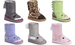 Muk Luks Toddler's Zoo Boots