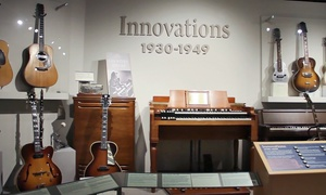 Museum of Making Music: Museum of Making Music Visit for Two Adults, or Two Adults and Two Children (Up to 50% Off)