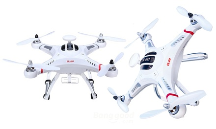 Microgear 2.4GHz. Auto-Pathfinder RC Quadcopter With GPS
