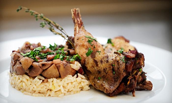 Warren Duck Club - Warren Center: Steak-House Food for Dinner or Lunch at Warren Duck Club (Half Off)