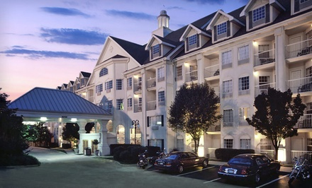 Stay with Optional Wine and Strawberries at the Hotel Grand Victorian in Branson, MO; Dates into April