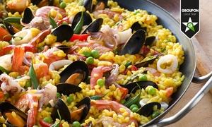 IL RANDAGIO: Menu con 1,2 kg di paella alla catalana e vino