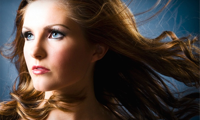 I Soci Salon - Back Bay: Haircut and Blow-Dry with Optional Gloss Moisturizing Treatment or Partial Highlights at I Soci Salon (Up to 61% Off)