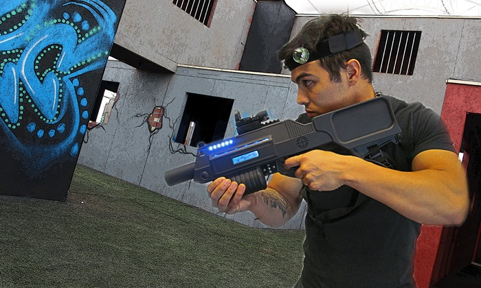 Xtreme Laser Combat - West Louisville: Four or Eight Games of Laser Tag for Up to Two at Xtreme Laser Combat (Up to 43% Off)