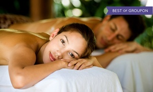 Hanna Day Spa: Swedish Couples Massage, Hot-Stone Massage, or Infrared Sauna Session at Hanna Day Spa (Up to 49% Off)