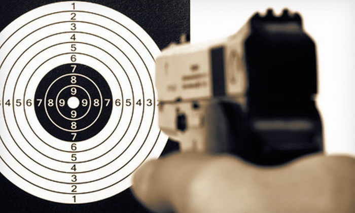 Plant City Gun Range - Plant City: Handgun-Safety and Concealed-Weapon-Permit Training with Ammo for Two or Four at Plant City Gun Range (Up to 64% Off)