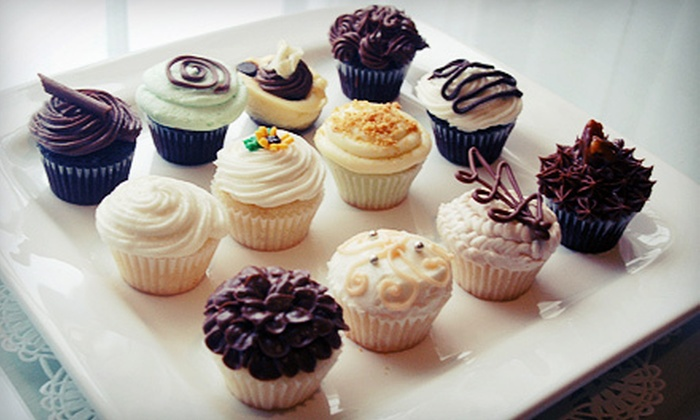 Charm City Cupcakes - Multiple Locations: $17.50 for Two Dozen Mini Cupcakes at Charm City Cupcakes ($35 Value)