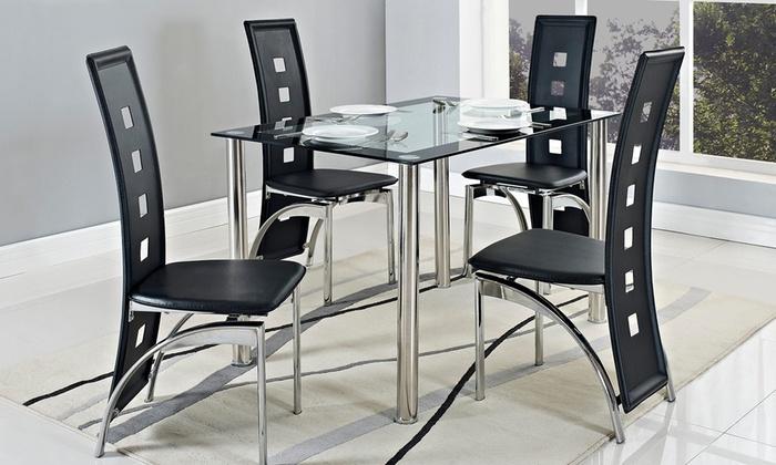 Set tavolo e sedie Bersica | Groupon Goods
